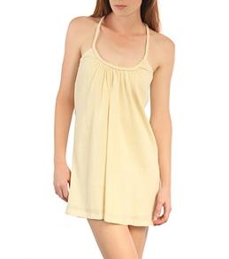 O'Neill Women's Remi Braided Strap Crinkle Gauze Dress