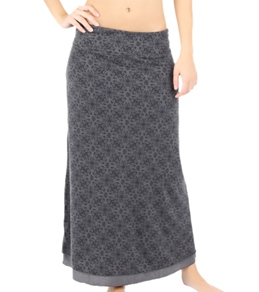 Soybu Women's Reversible Maxi Yoga Skirt