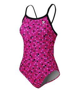 TYR Pink Check Diamondfit