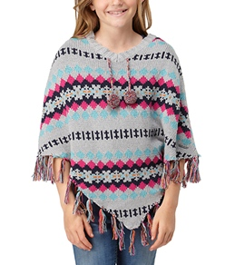 Roxy Youth Girls' All Around Sweater Poncho (7-16)