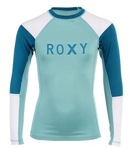 Roxy Youth Girls' Radio Waves Heatwaves Rash Guard (7-16)