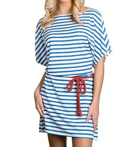 Cabana Life Nautical Bliss Boat Neck Dress