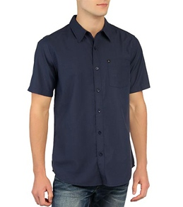 Quiksilver Men's Soul Brother S/S Button Up Shirt