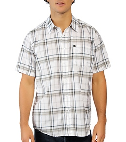 Quiksilver Men's Knockout Island S/S Button Up Shirt