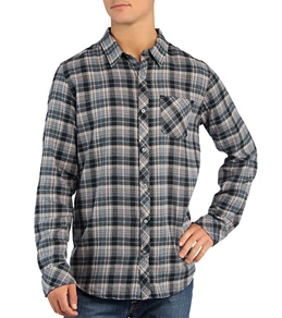 Quiksilver Men's Chongo Man L/S Flannel Button Up Shirt