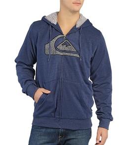 Quiksilver Men's Spencer Sherpa-Lined Full Zip Hoodie