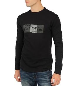 Quiksilver Men's Triple Lindy L/S T-Shirt