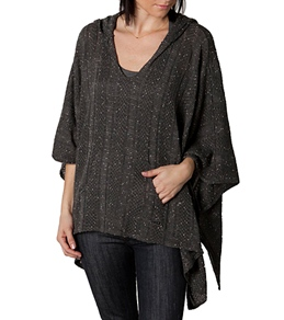 Rusty Women's Peace Out Poncho