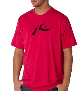 Rusty Men's Basic R Dot T-Shirt