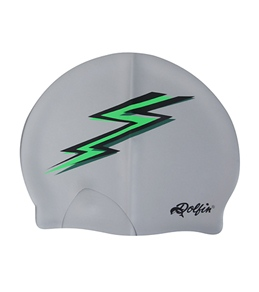 Dolfin Silicone Green Lightning Bolt Cap