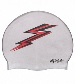 Dolfin Silicone Red Lightning Bolt Cap