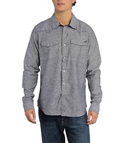 Reef Men's Super Chambray Western L/S Shirt