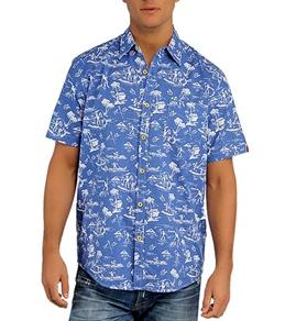 Lost Men's Skewered Woven S/S Shirt