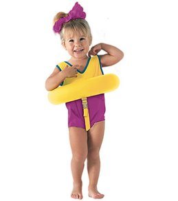 Aqua Leisure Deluxe Tot Trainer W/ Safety Strap