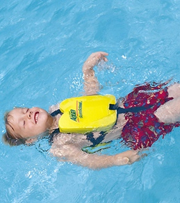 Aqua Leisure Removable Foam Pad Swim Trainer (25-40lbs)