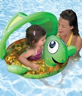 Aqua Leisure Turtle Sunshade Baby Float
