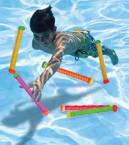 Aqua Leisure Flexible Water Batons (Set of 6)
