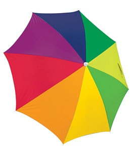 Rio Brands 6FT Multi Beach Umbrella SPF50