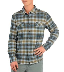 Quiksilver Waterman's Port Waikato L/S Flannel Shirt