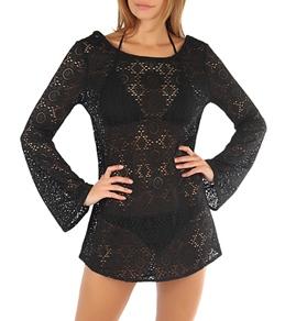 Roxy Women's Autumn Light Crochet Dress