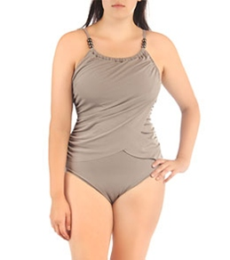 Magicsuit by Miraclesuit Solids Suzanne Tankini Top