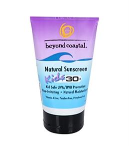 Beyond Coastal Kids Natural SPF 30+ Sunscreen (4 oz)