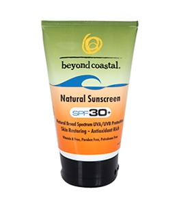 Beyond Coastal Natural SPF 30+ Sunscreen (4 oz)