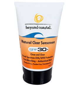 Beyond Coastal Natural Clear SPF 30+ Sunscreen (2.5 oz)