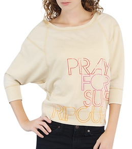 Rip Curl Women's Pray For Surf Crewneck