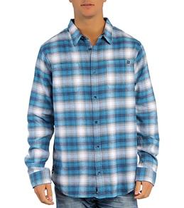 Rip Curl Men's Half Mast Flannel L/S Shirt