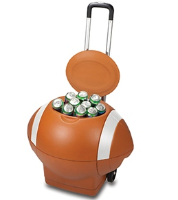 Picnic Time Football Cooler Trolley