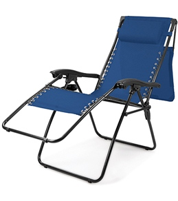 Picnic Time Serenity Lounge Chair