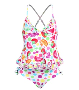 Seafolly Girls' Very Berry Tankini Set (2-7yrs)
