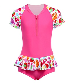 Seafolly Girls' Very Berry 1-Piece Sunsuit (3mos-4yrs)