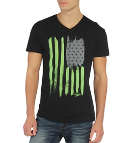 Speedo Men's Flag Stripe Tee