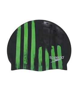 Speedo Flag Stripe Swim Cap