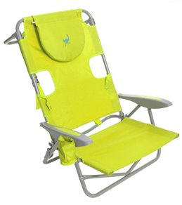 Ostrich Face Down Beach Chair W/ Backpack Straps