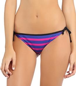 Hurley Women's Minnow Stripe Tie Side Bottom