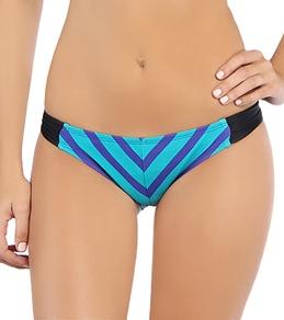 Hurley Women's Minnow Stripe Aussie Tab Side Bottom