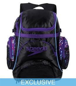 SwimOutlet.com Exclusive Speedo Pro Paint Splatter Backpack
