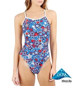 Sporti Astro Thin Strap Swimsuit