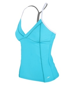 Speedo Mesh Panel Tankini