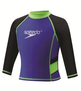 Speedo Kids' UV Long Sleeve Sun Shirt (2T-6X)