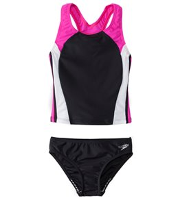 Speedo Girls' Infinity Splice Tankini