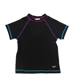 Speedo Girls' Short Sleeve Rashguard