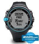 Garmin Swim Training Waterproof Watch Black