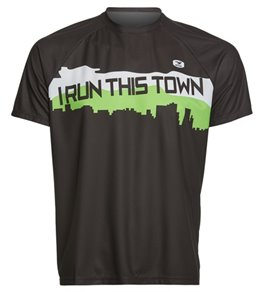 Sugoi Men's I Run This Town Short Sleeve