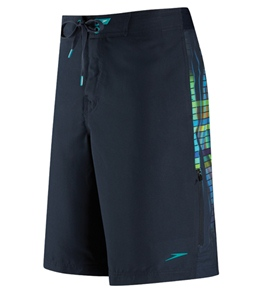 Speedo Men's Wave Length Splice Boardshort with Speedo Flx System