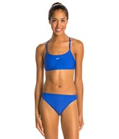 Nike Swim Nylon Core Solids Sport Top 2PC Swimsuit Set