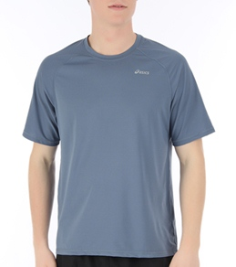 Asics Men's PR Stripe Running Short Sleeve